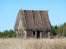 Sheep shed on Farö Sweden Stock Images