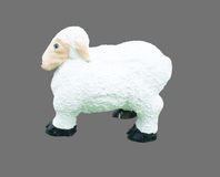 Sheep statute Stock Images