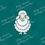 Sheep with text Stock Images