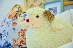 Sheep toy royalty free stock images