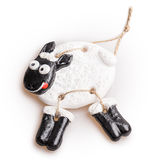 Sheep toy Stock Photography