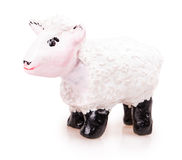 Sheep toy Stock Image