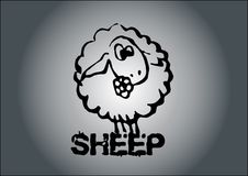 Sheep vector Royalty Free Stock Image