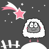 Sheep. Vector illustration Royalty Free Stock Photo