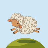 Sheep vector illustration Stock Photography