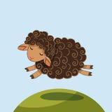 Sheep vector illustration Royalty Free Stock Image