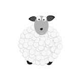 Sheep white Stock Images