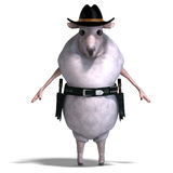 Sheep of the wild west Stock Image