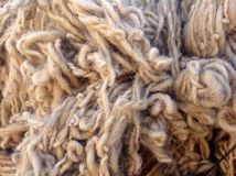 Sheep wool background Royalty Free Stock Images