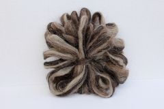 Sheep Wool Roving Stock Photos