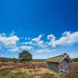 Sheepfold ihn the lueneburg heath Stock Images