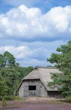 Sheepfold,Lueneburg Heath,Lower Saxony,Germany Royalty Free Stock Photo