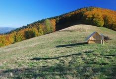 Sheepfold Moravskoslezske Beskydy Mts. Stock Photos