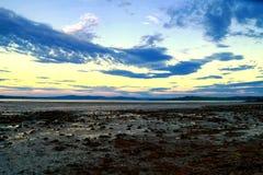 Sheephaven海湾, Co Donegal,爱尔兰 库存照片