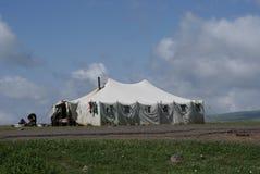 Sheepherder rodziny obóz w Armenia obrazy stock