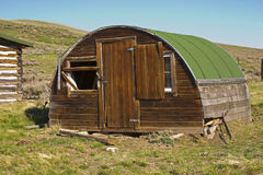 Sheepherder shack Royalty Free Stock Photo