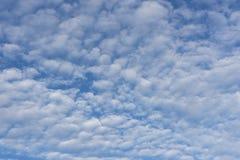 Sheepish sky in Norway. Sheepish sky at Haugesund in Norway Stock Photos