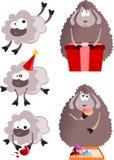 Sheeps för nytt år 2015 Arkivfoto