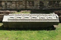 Sheeps in steen Stock Afbeeldingen