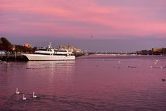 Sheepshead Bay Brooklyn. Sunset on the canal, in Sheepshead Bay, Brooklyn, New York stock photos
