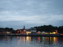 Sheepshead Bay  at dusk Stock Image
