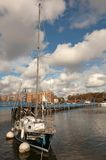 Sheepshead Bay after the Superstorm Sandy Royalty Free Stock Photography