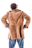 Sheepskin back Royalty Free Stock Photos