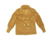 Sheepskin coat Stock Images