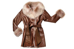 Sheepskin coat Royalty Free Stock Photo