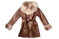 Sheepskin coat Stock Photo