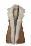 Sheepskin coat Stock Image