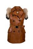 Sheepskin coat Royalty Free Stock Photos