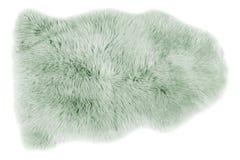 Sheepskin isolated on white Stock Images