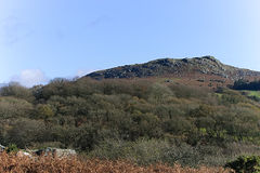 Sheepstor在Dartmoor国家公园 免版税库存照片
