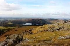 Sheepstor bascule le parc national Devon R-U de Dartmoor Images libres de droits
