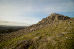 Sheepstor Dartmoor National Park Devon uk stock images