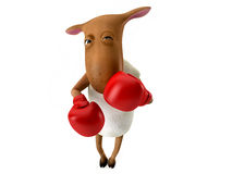 Sheepy - boxeo libre illustration