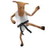 Sheepy - golpeando con el pie Imagen de archivo libre de regalías