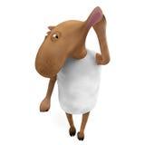 Sheepy hören Sie Lizenzfreies Stockbild