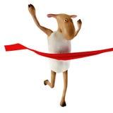 Sheepy im Ende Lizenzfreies Stockbild