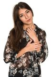 Sheer blouse Royalty Free Stock Photo