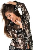 Sheer blouse Stock Photography