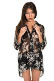 Sheer blouse Royalty Free Stock Photography