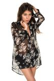 Sheer blouse Royalty Free Stock Images
