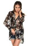 Sheer blouse Stock Photos