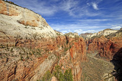 Sheer Canyon in the Southwest Stock Images