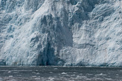 Sheer ocean glacier Stock Photography
