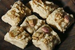 Sheer Payra - An Afghani cardamom fudge Royalty Free Stock Image