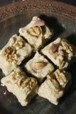 Sheer Payra - An Afghani cardamom fudge Royalty Free Stock Photo