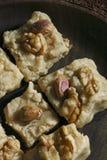 Sheer Payra - An Afghani cardamom fudge Stock Image
